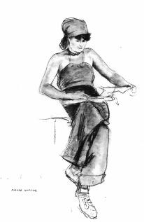 Jo lisant - Edward Hopper - cliquer pour image agrandie