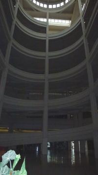 une des deux rampes hélicoïdales du Lingotto