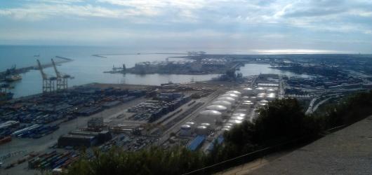 le vrai port de Barcelone