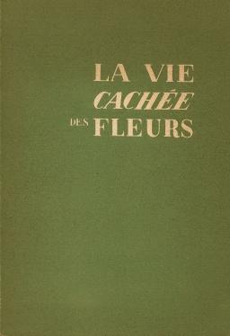 couverture de La vie cachée des fleurs