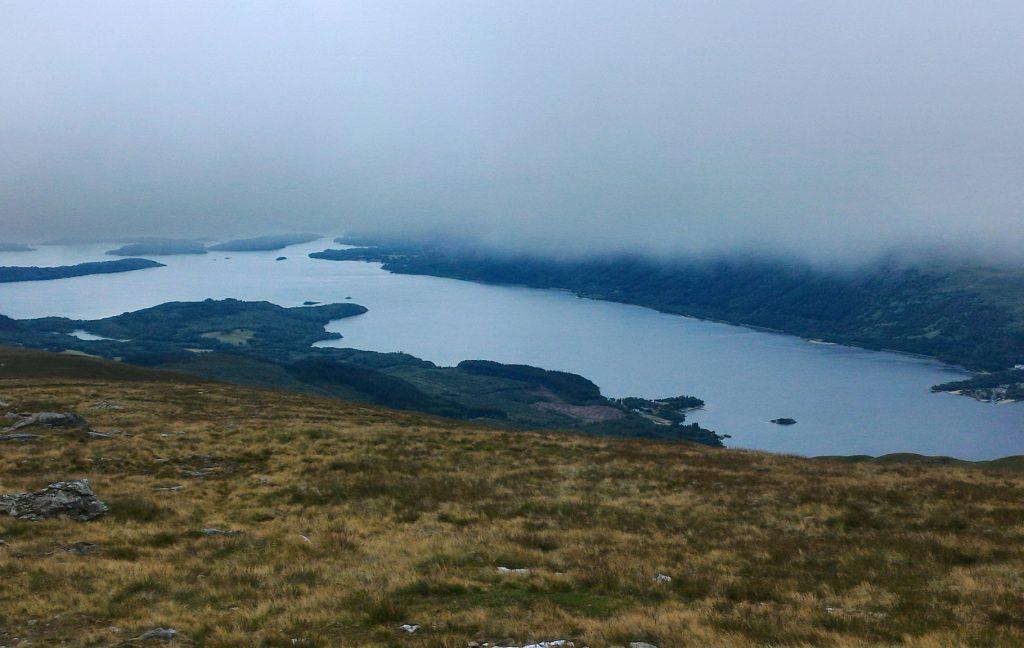 Loch Lomond vu de Ben Lomond